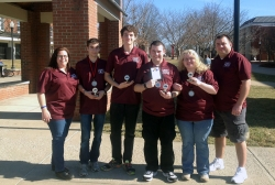 Students Place First at State Regional Scholar's Bowl