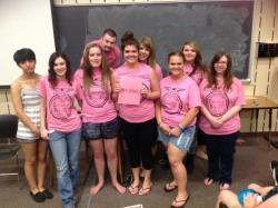 EKU UPWARD BOUND STUDENTS RAISE MONEY TO HELP STAND FOR THE SILENT